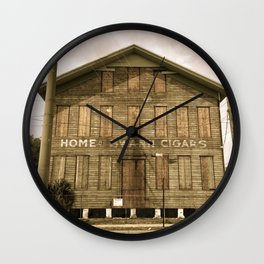 Historic Ybor Building Wall Clock