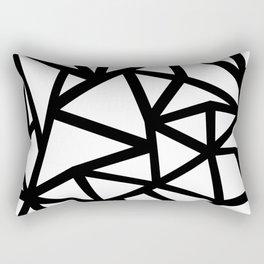 Ab Out Thicker B Rectangular Pillow