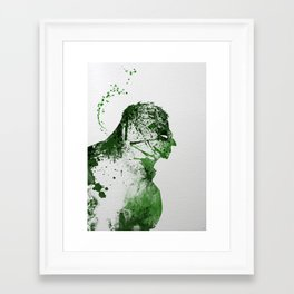 Irritated Framed Art Print