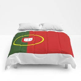 portugal flag Comforters