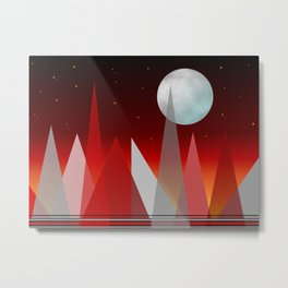 Under The Night Sky Metal Print