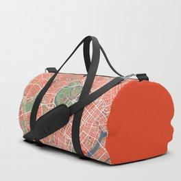Tokyo city map classic Duffle Bag