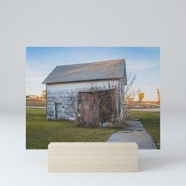 Main Street, Denhoff, North Dakota 10 Mini Art Print