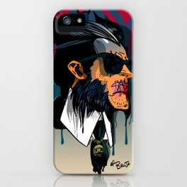 wolvereen  vs Karl Lagerfeld  iPhone Case