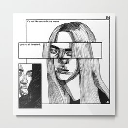 ho*st{age} Metal Print