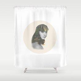 Anna Karina Nature Portrait Shower Curtain
