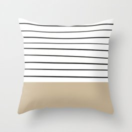 MARINERAS CREAM Throw Pillow