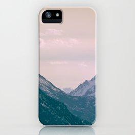 Across the Valleys iPhone Case