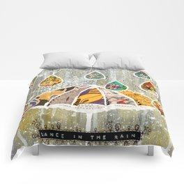 Dance In the Rain Comforters