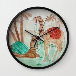Jaipur Camels Wall Clock