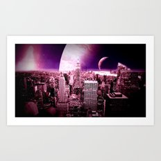 New New York : Galaxy City Art Print