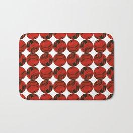 Roses (red) Bath Mat