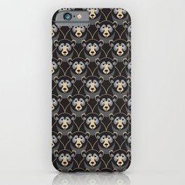 Little Black Bears iPhone Case