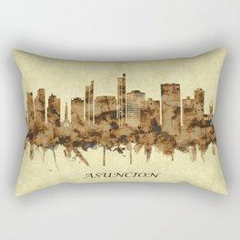 Asuncion Paraguay Cityscape Rectangular Pillow