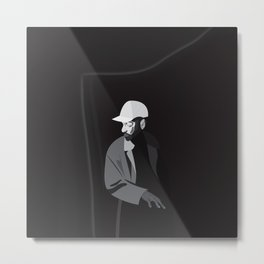 Light&Dark Metal Print