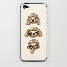 No Evil Sloth iPhone & iPod Skin
