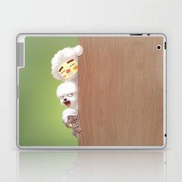 Peeking Laptop & iPad Skin