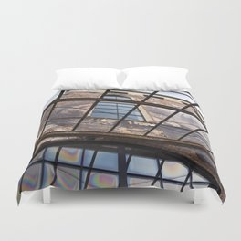 OLD FACTORY BUILDING Duvet Cover