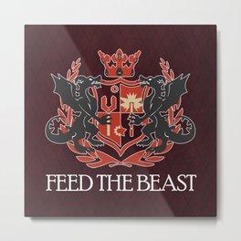 Dragon Crest Metal Print