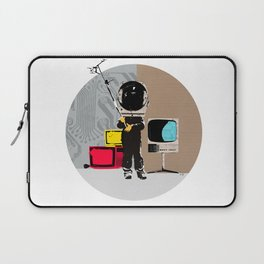 Check your head out - Collage Laptop Sleeve