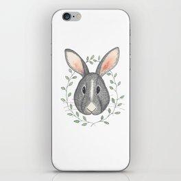 Buns the Grumpy Bunny iPhone Skin