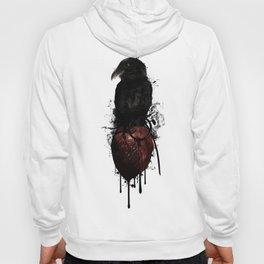 Raven and Heart Grenade Hoody