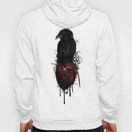 Raven and Heart Grenade Hoody