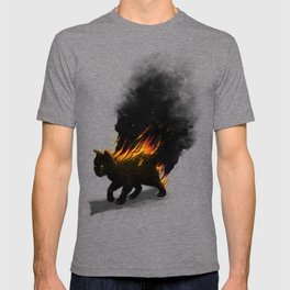 This Cat Is On Fire! T-shirt