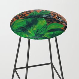 Jungle cat Bar Stool