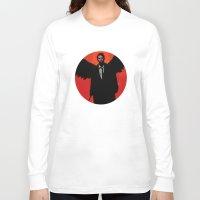 castiel Long Sleeve T-shirts featuring Castiel by Duke Dastardly