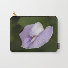 Butterfly Pea Flower Carry-All Pouch
