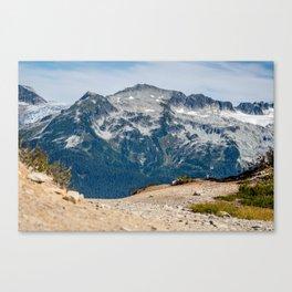 On the Way to Elfin Lakes, Garibaldi Provincial Park, British Columbia, Canada Canvas Print
