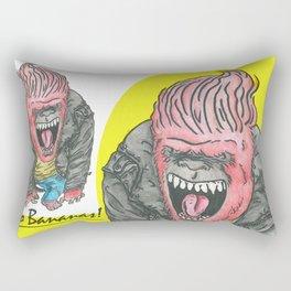 Going Banananas Rectangular Pillow