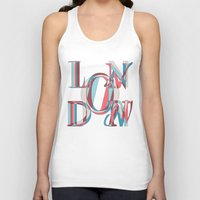 london Tank Tops featuring London by Fimbis