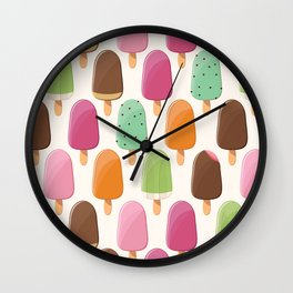 Ice cream 012 Wall Clock