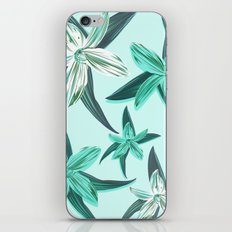 Quote - Work hard Stay Humble - Flower iPhone & iPod Skin