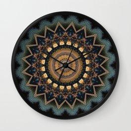 Mandala cosmic consciousness Wall Clock