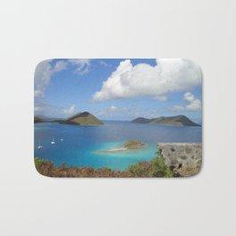 Water Lemon Cay, St. John, Virgin Islands Bath Mat