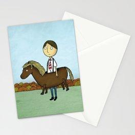 Horseback Stationery Cards
