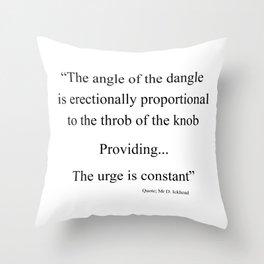The Angle Throw Pillow