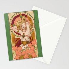 Chronos Nouveau Stationery Cards