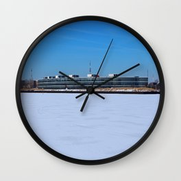 Owens Corning in Winter Wall Clock