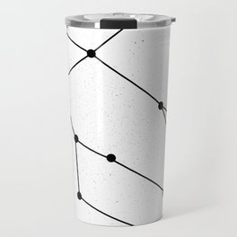 GEMINI (WHITE & BLACK) Travel Mug