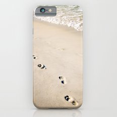 footprints in the sand iPhone 6s Slim Case