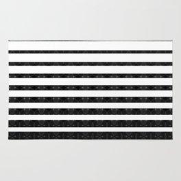 Spirograph on stripes - 1 Rug