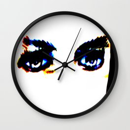 Kuhl's Kit Kat Klub: Lugosi's Eyes Wall Clock