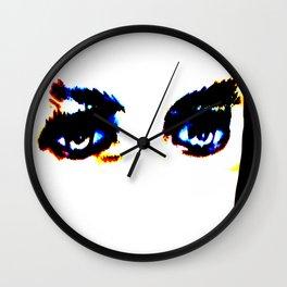 Kuhl's Kit Kat Klub: Lugosi's Eyes Wall Clock