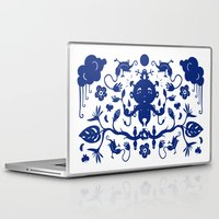 jungle Laptop & iPad Skins featuring JUNGLE by RUEI