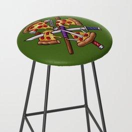 Ninja Pizza Bar Stool