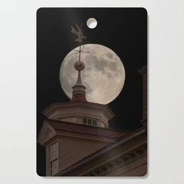 Moon Over Mount Vernon Cutting Board